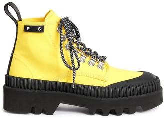 Proenza Schouler Lug Sole Lace-Up Boots