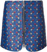 Isabel Marant 'Heina' jacquard mini skirt - women - Polyester/Polyimide - 38