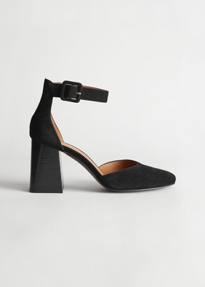 And other stories Suede Ankle Strap Heel