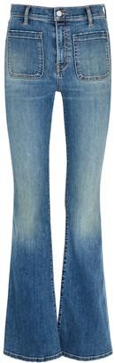 Veronica Beard Florence Blue Flared Jeans