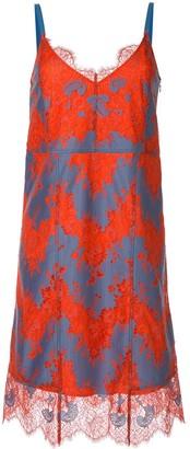 CK Calvin Klein lace cami dress