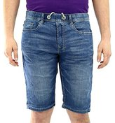 Buffalo David Bitton Men's Casper Denim Short Merkur Dark