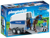 Playmobil NEW Police w/ Horse & Trailer