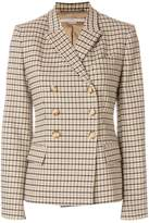 Stella McCartney checked double-breasted jacket