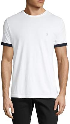 French Connection Logo Patch Short-Sleeve Cotton Tee