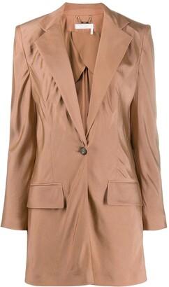 Chloé Tailored Longline Blazer