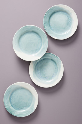 Cabarita Side Plates, Set of 4 By Gather by Anthropologie in Blue Size SIDE PLATE