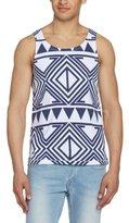 NATIVE YOUTH Men's NYTO285 Sleeveless Vest