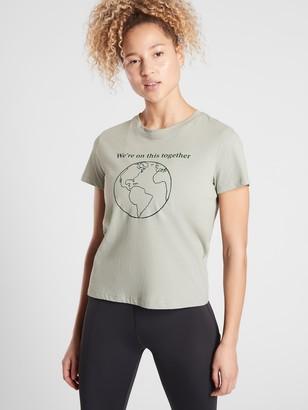 Athleta Earth Day Graphic Tee