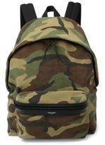 Saint Laurent Camouflage Hunting Backpack
