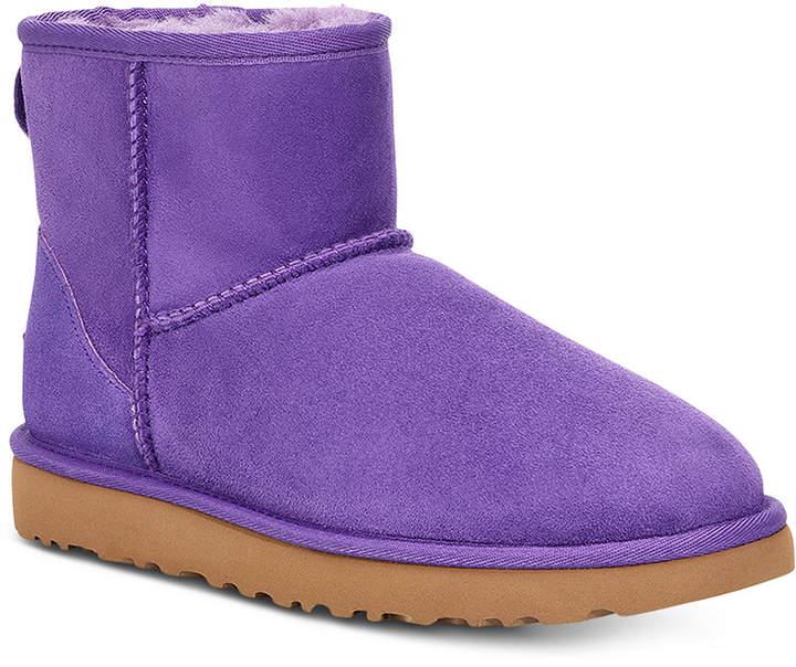 92cf5f7f64a Women Classic Mini Ii Genuine Shearling-Lined Boots