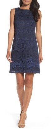 Eliza J Lace A-Line Minidress