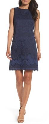 Eliza J Lace A-Line Min Dress