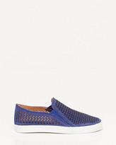 Le Château Nubuck Leather Slip-on Sneaker