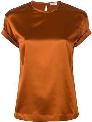 Brunello Cucinelli silk T-shirt