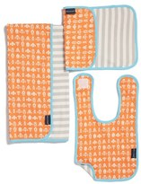 Infant Boy's Bella Tunno Bib, Burpie Cloth & Play Mat Set