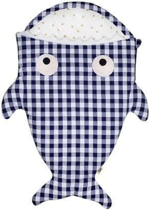 Baby Bites Shark Cotton Jersey Baby Sleeping Bag