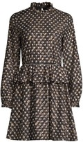 Stine Goya Christine Peplum Flare Dress