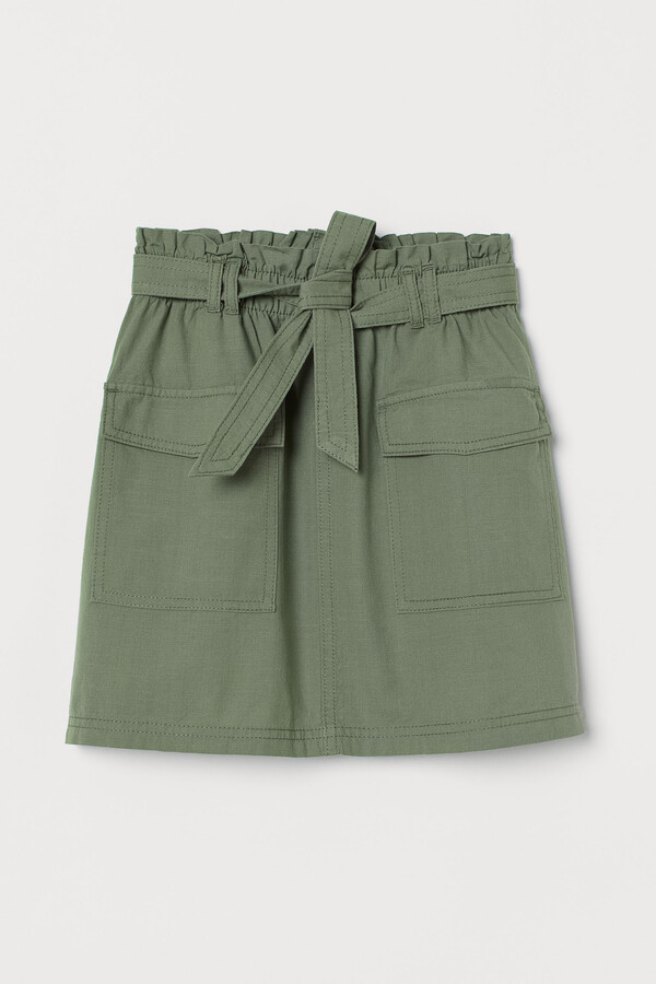 Thumbnail for your product : H&M Paper bag skirt