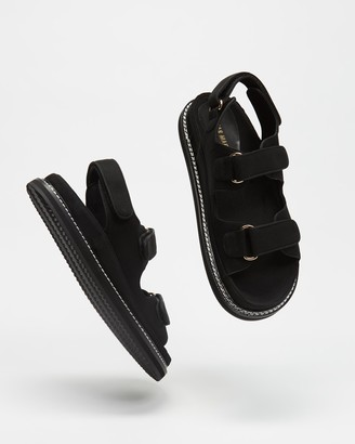 Mae Women's Black Strappy sandals - Pascale - Size 36 at The Iconic