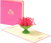 Kim Seybert Topiary Greeting Card