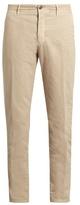 Incotex Slim-leg Stretch Cotton-blend Chino Trousers