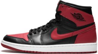 Jordan Air 1 Retro High OG 'Bred' Shoes - Size 12