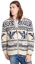 Denim & Supply Ralph Lauren Wool-Blend Full-Zip Sweater