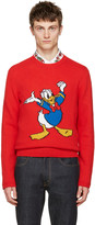 Gucci Red Donald Duck Sweater