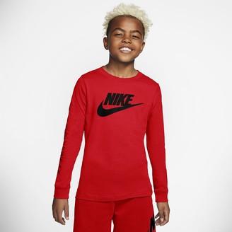 Nike Big Kids (Boys) Long-Sleeve T-Shirt Sportswear