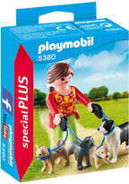 Playmobil NEW Dog Walker Playset 7pce