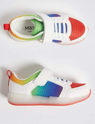 Marks and Spencer Kids Light Up Trainers (5 Small - 12 Small)
