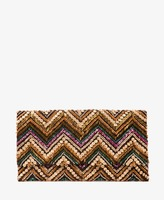 Forever 21 Zig Zag Beaded Clutch