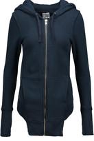OAK Cotton-jersey hooded sweatshirt