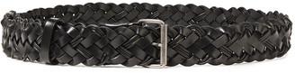 Ann Demeulemeester Braided Leather Belt