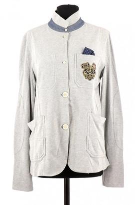 Napapijri Grey Cotton Jacket for Women