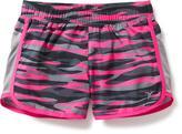 Old Navy Mesh-Side Running Shorts for Girls