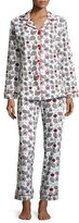 BedHead Printed Long-Sleeve Classic Pajama Set, Holiday