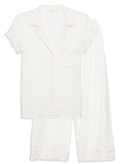 Eberjey Bloom Floral Print Pajama Set