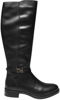Tommy Hilfiger Hardware Detail Leather Knee High Boots