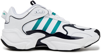 adidas Magmur Runner Mesh And Leather Sneakers