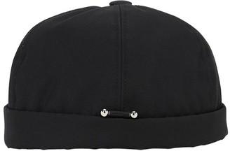 Neil Barrett Canvas Hat W/ Piercing