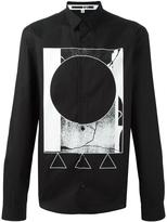 McQ by Alexander McQueen geometric print shirt