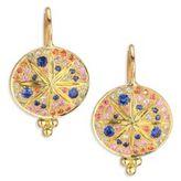 Temple St. Clair Celestial Multicolor Sapphire & 18K Yellow Gold Sorcerer Drop Earrings