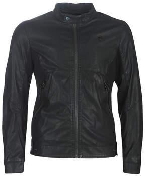 G Star Raw MOTAC-X GPL BIKER JKT men's Leather jacket in Black