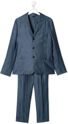 Emporio Armani Kids Slim-Fit Two Piece Suit