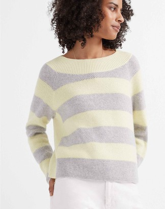 Club Monaco Racked Stitch Cashmere Sweater