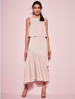 M&Co GLAMOUR Bias cut midi dress