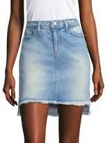 Joe's Jeans Saw Step-Hem Denim Skirt