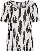 Vince Plume printed linen t-shirt